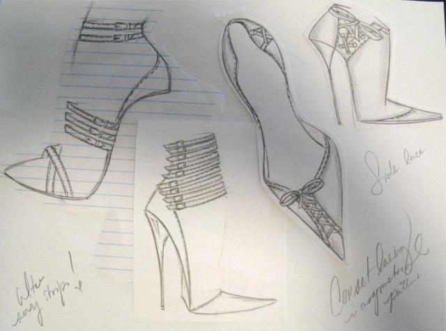 Pascal Memishian's personal sketches