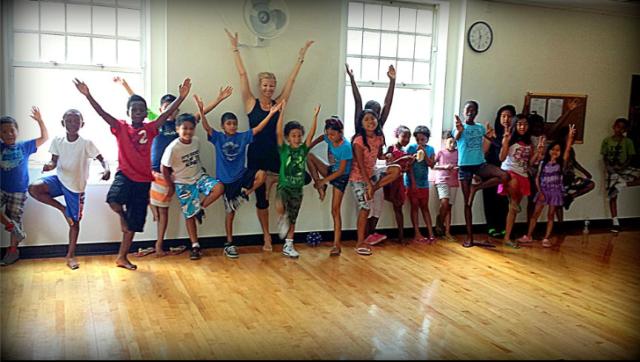 CCI Yoga Class with Brooke de Weaver