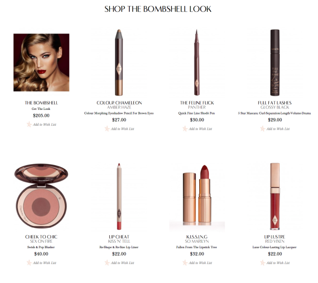 charlottetilbury.com photos