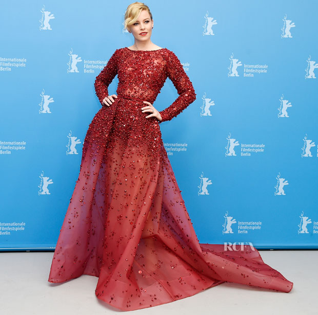 Elizabeth Banks in Ellie Saab Getty Images photo