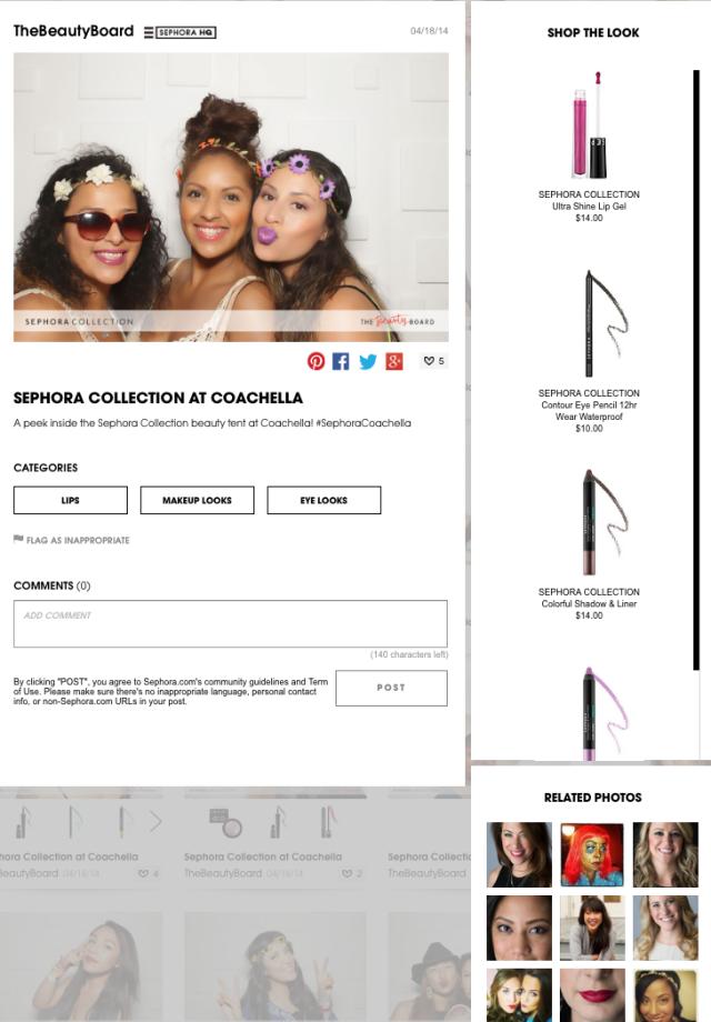 Sephora.com photo