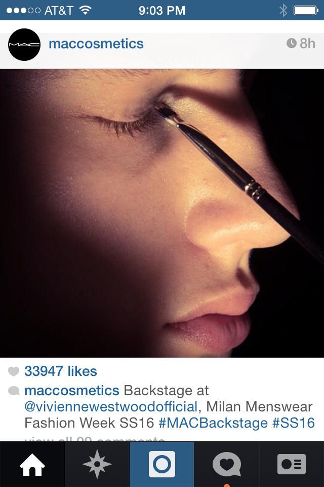 MAC Instagram photo