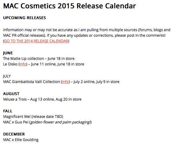 http://swatchandreview.com/mac-cosmetics-2015-release-calendar/