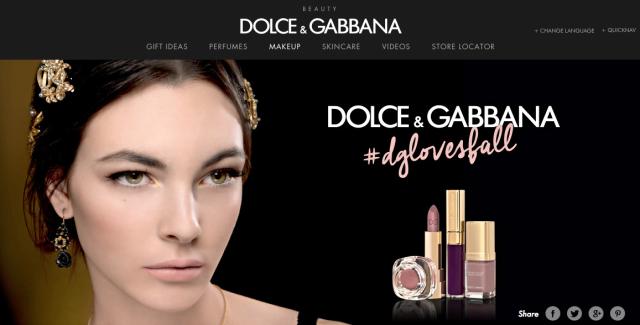 http://www.dolcegabbana.com