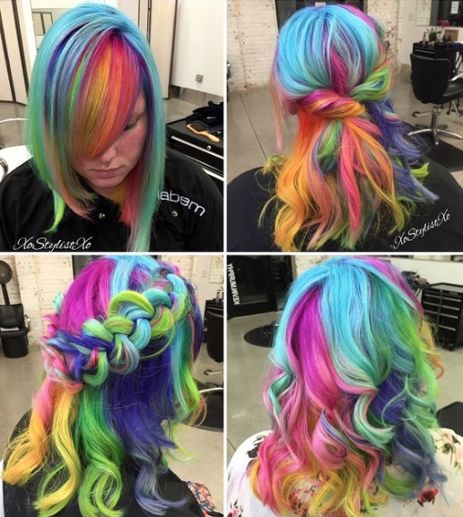 2010, Rainbow - Image: Instagram user @xostylistxo
