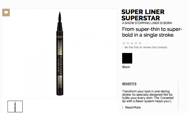 http://www.loreal-paris.co.uk/make-up/eye/eye-liner/super-liner-superstar