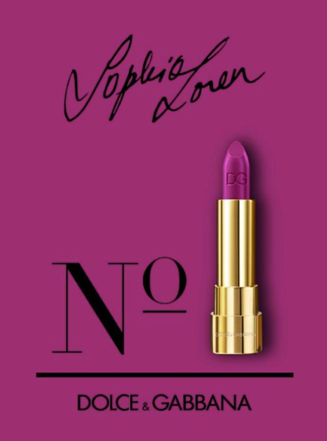 Sophia Loren No. 1 Dolce & Gabbana