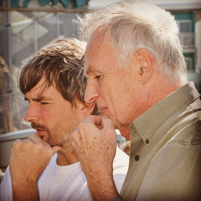 (C) American Hot Rod Foundation 2015 Steve and Dave in contemplation