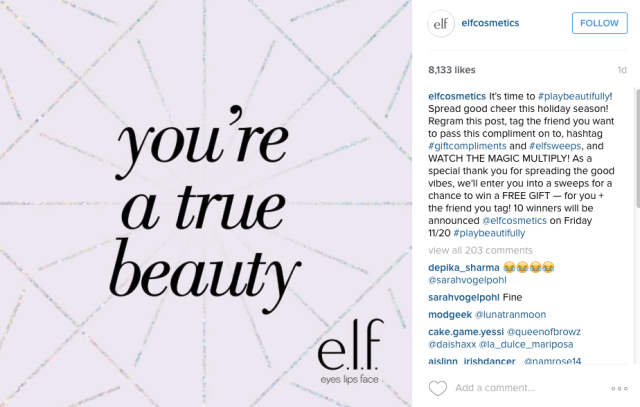 https://www.instagram.com/elfcosmetics/