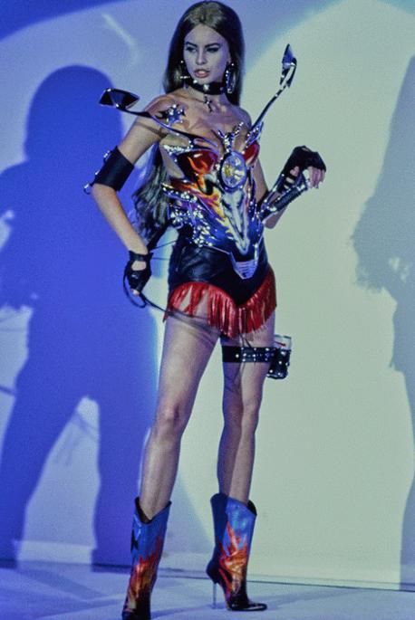 Vogue.com Thierry Mugler Spring 1992