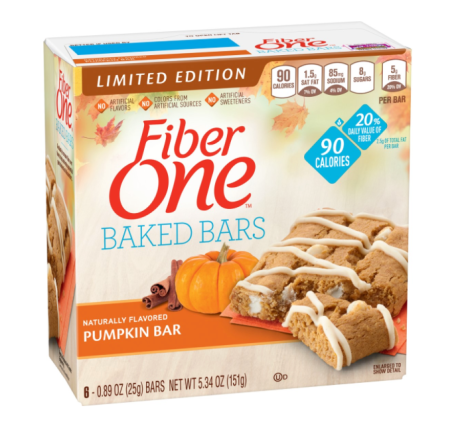 http://www.fiberone.com/product/limited-edition-pumpkin-bar/